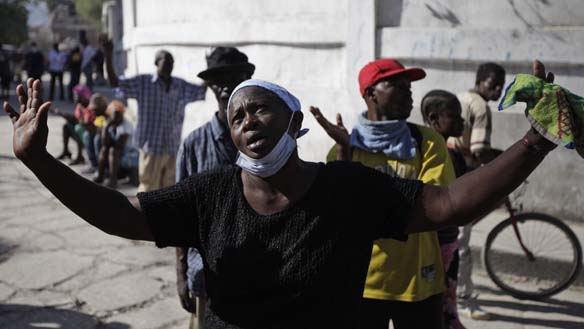 Haiti Earthquake-victims
