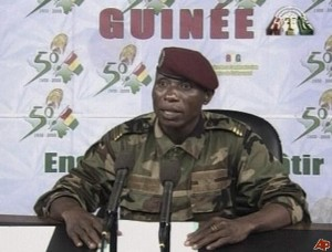 "Guinea's dictator Camara apologizes: claims ""atrocities"" by ""uncontrollable elements in the military…."""