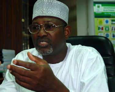 USAfrica: INEC Chairman Jega calling for Abia senatorial voting materials of March 28