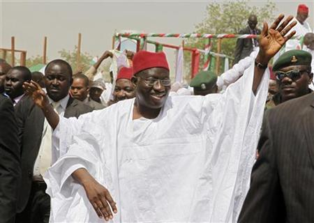 Jonathan's security adviser says postpone February Nigeria's Presidential elections