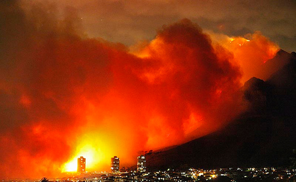 Cape Town new year fires leave 4,000 homeless, 4 killed