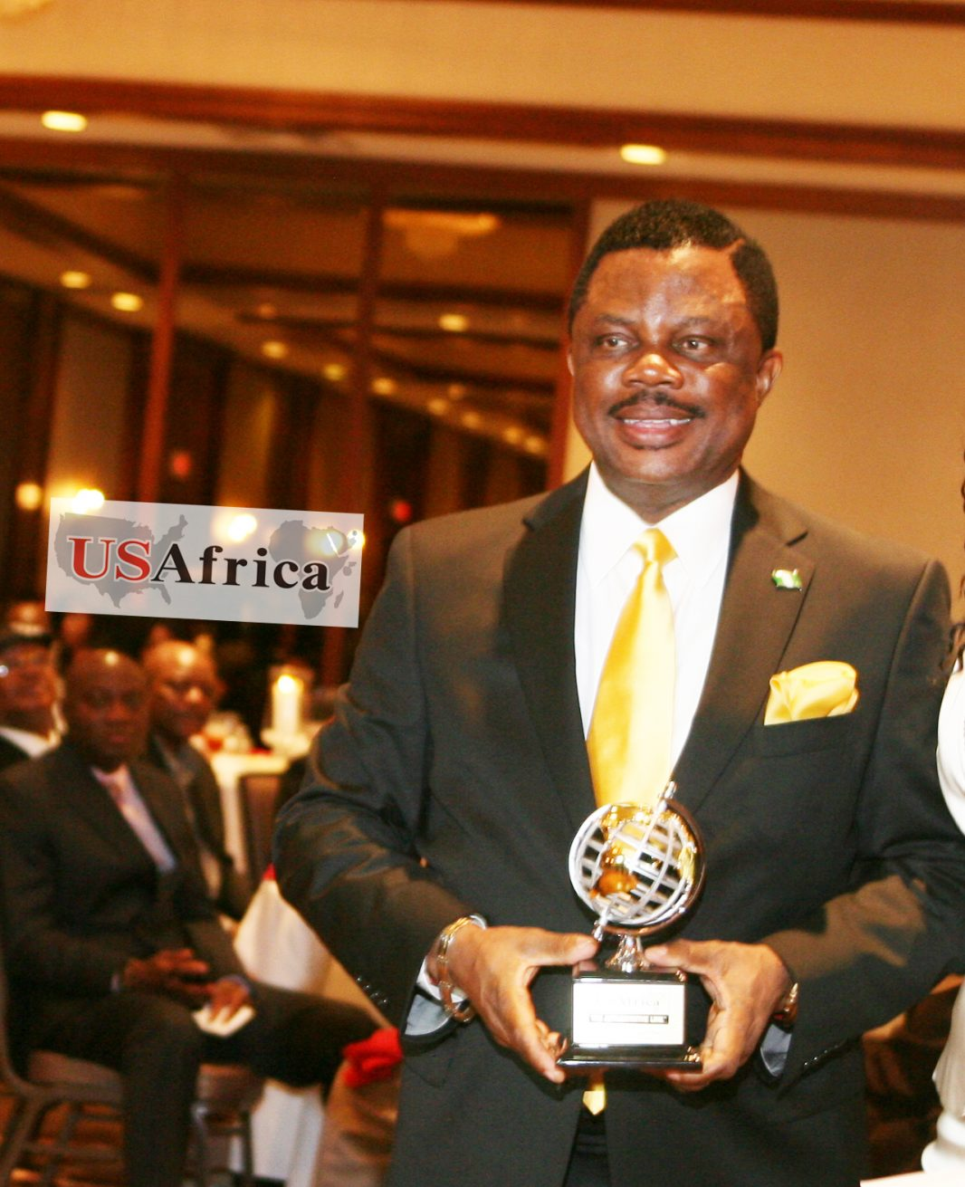 "USAfrica: Anambra Gov-elect OBIANO says ""my election reflects God's grace""; thanks Obi, Anambra voters"