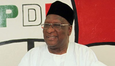 "Into 2014, PDP Chairman Bamanga Tukur says Jonathan embodies ""political decorum"""