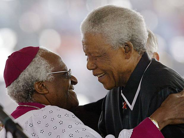 Nelson Mandela lived as a moral colossus. By Bishop Desmond Tutu