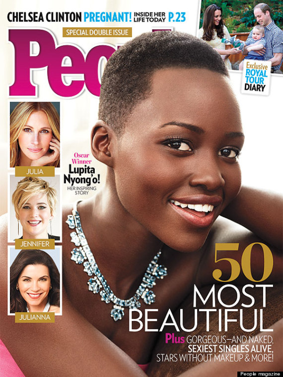 Lupita Nyong'o named 'Most Beautiful' in latest People magazine
