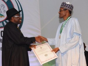 Jonathan-congrats-Buhari-for-national-award