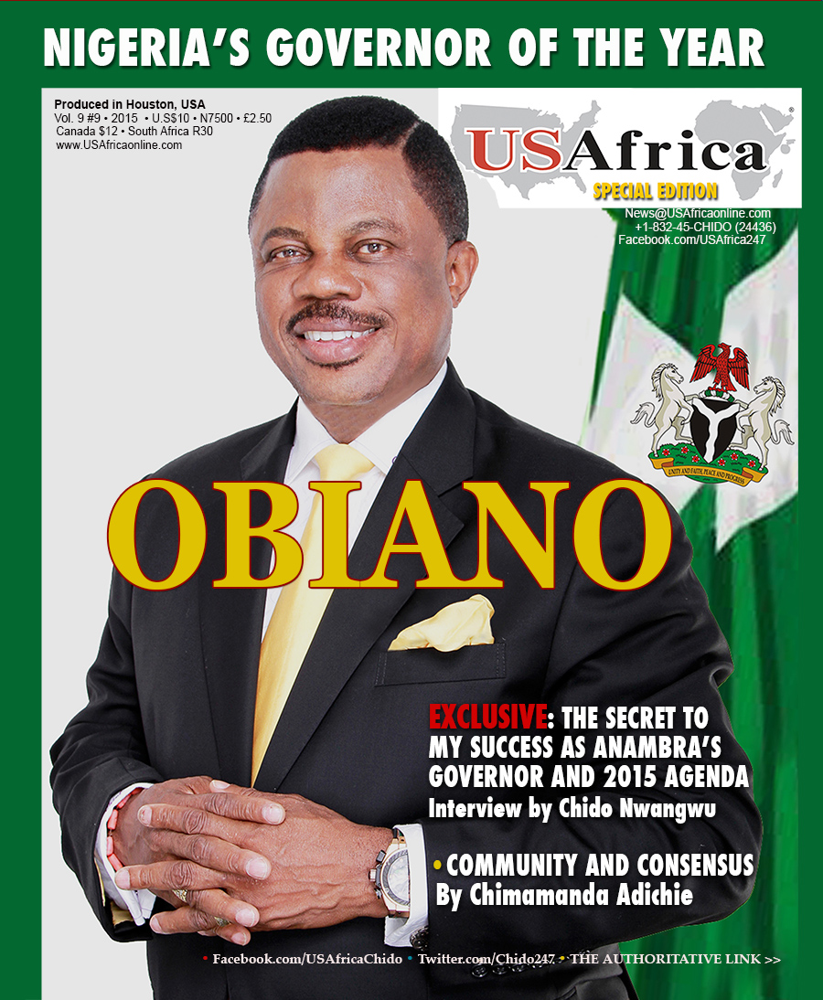 Gov. Obiano is guest of honor at USAfrica interactive forum with diaspora in Houston 12pm January 9