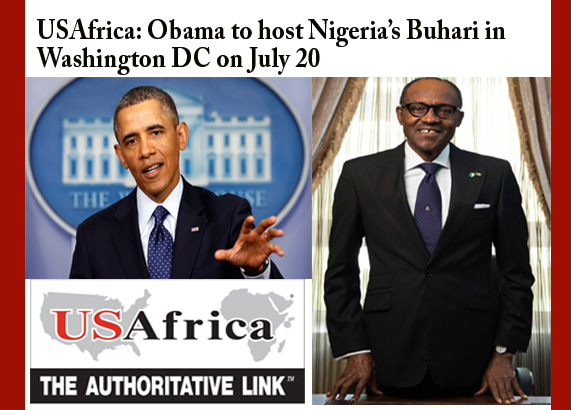 USAfrica: Obama to host Buhari in Washington DC on July 20