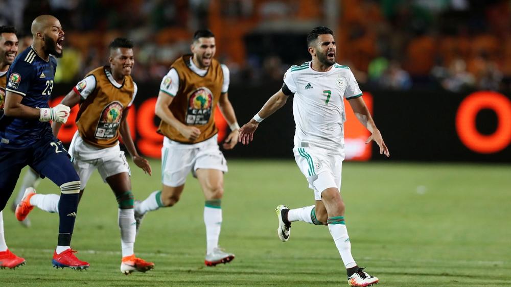 Algeria's international superstar Mahrez shot down Super Eagles of Nigeria