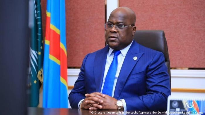 Previously reluctant DR Congo President Tshisekedi takes first dose of vaccine for Covid-19